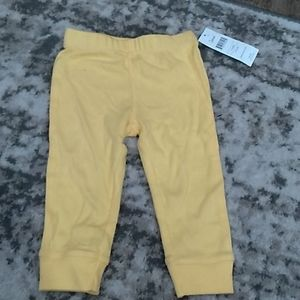 12 month baby yellow pants